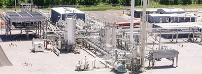 lng plant canada, small scale lng plant canada, lng filling station canada